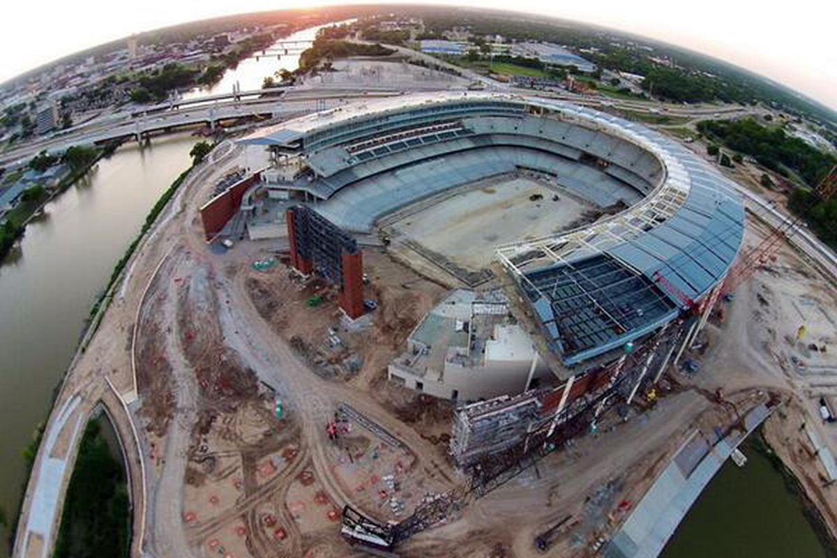 Mclane Stadium Time Lapse 100 Days Until Kickoff Our