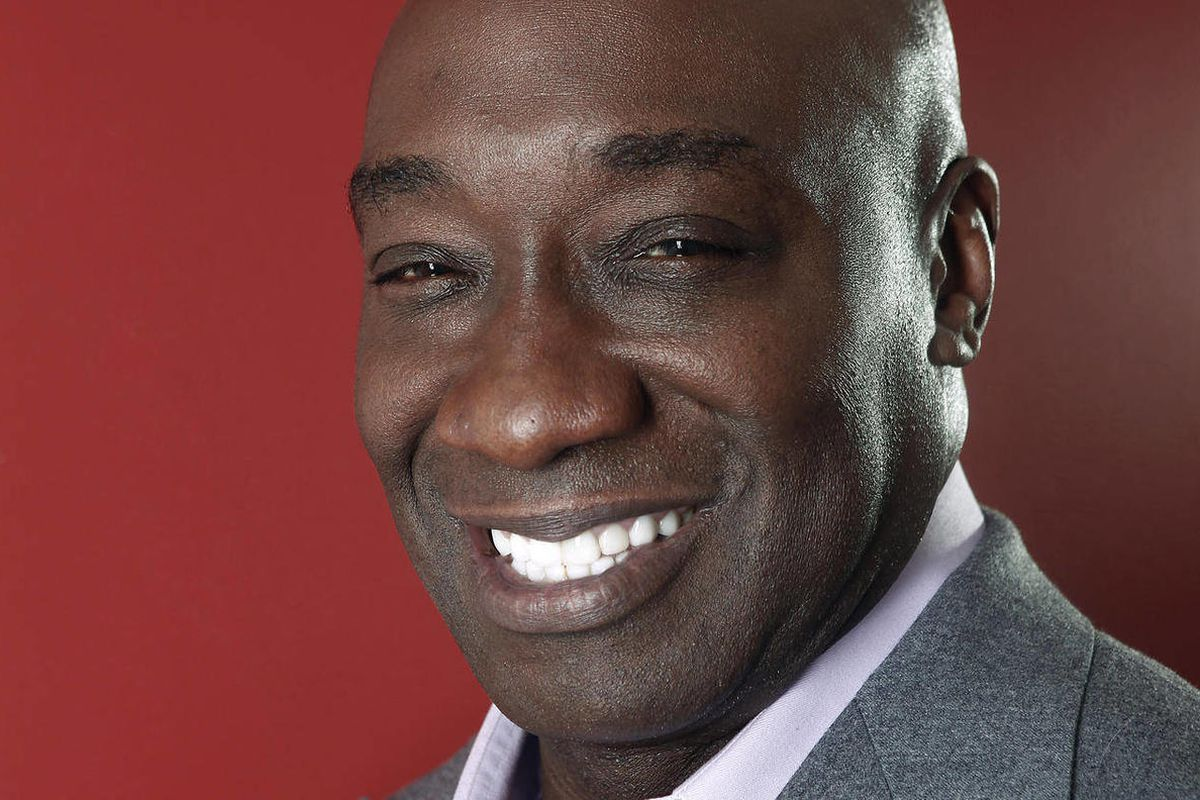 This Wednesday, Jan. 11, 2012 photo shows actor Michael Clarke Duncan in New York. Duncan has died at the age of 54, his fiancee said on Monday, Sept. 3, 2012.