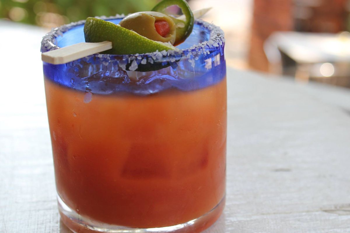 The Bloody Mary from Licha's Cantina