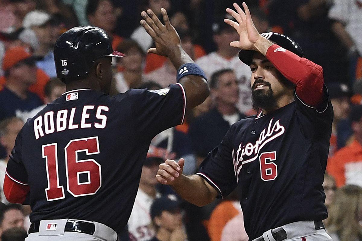 MLB World Series Game 1: Washington Nationals at Houston Astros