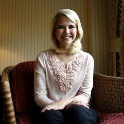 Elizabeth Smart is interviewed in Salt Lake City on Wednesday, May 18, 2011.