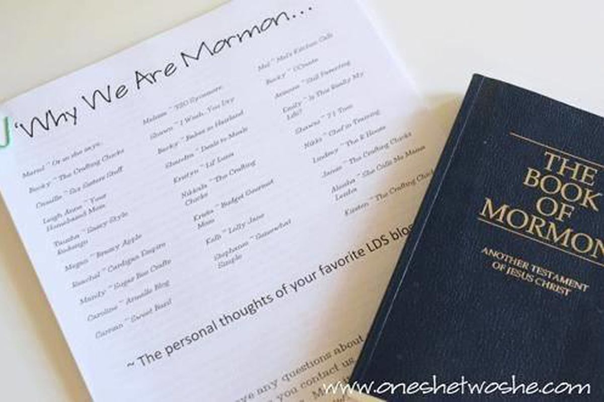 Why your favorite bloggers are Mormon: LDS women share