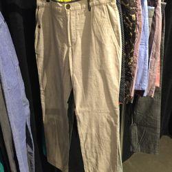 Descendant of Thieves reversible pants, $35