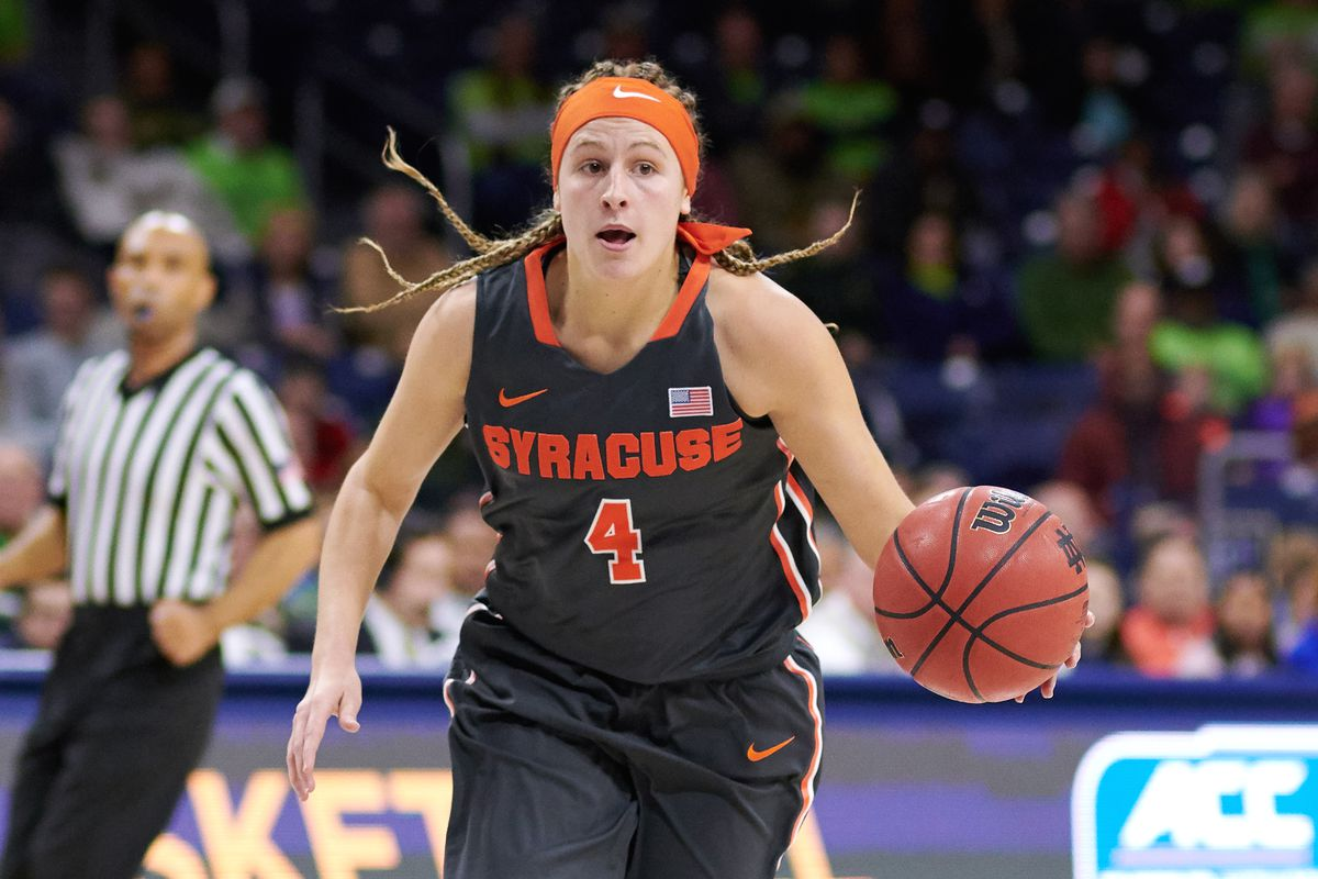 COLLEGE BASKETBALL: DEC 28 Women's - Syracuse at Notre Dame