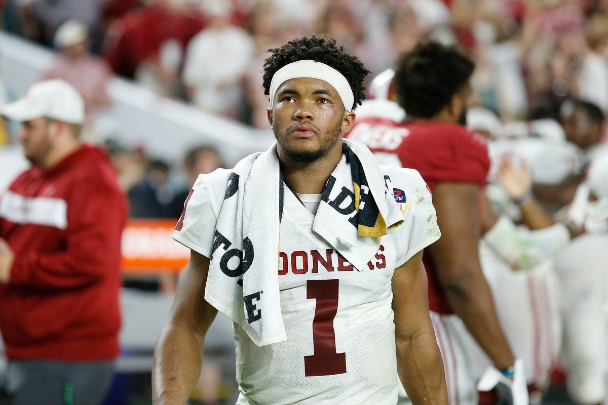 new style e32b0 1aa5e Kyler Murray announces decision to play football - Athletics ...