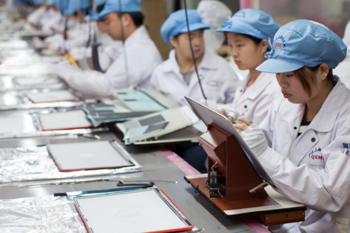 Foxconn worker