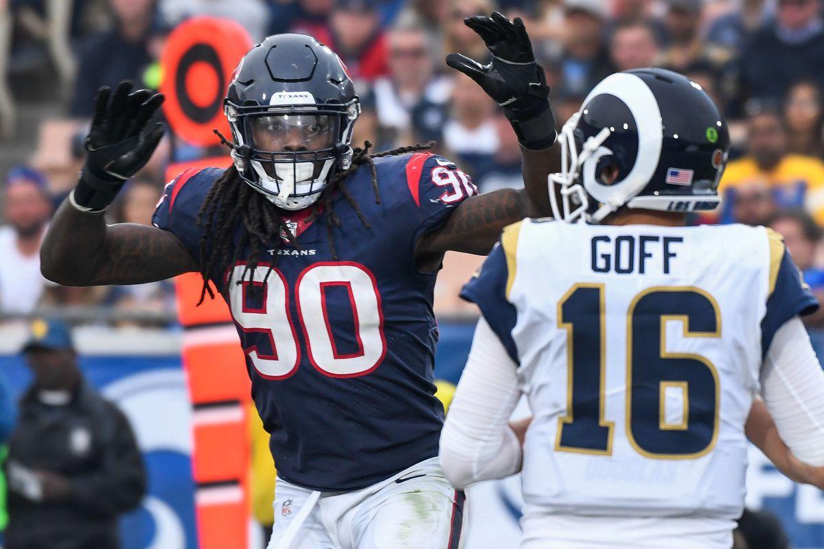 49ers Texans preview Down J J Watt Jadeveon Clowney is still