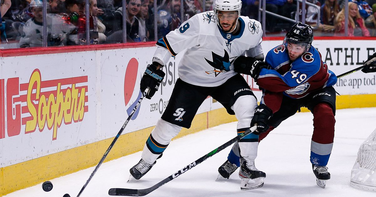 Avalanche at Sharks: Lines, game thread and where to watch