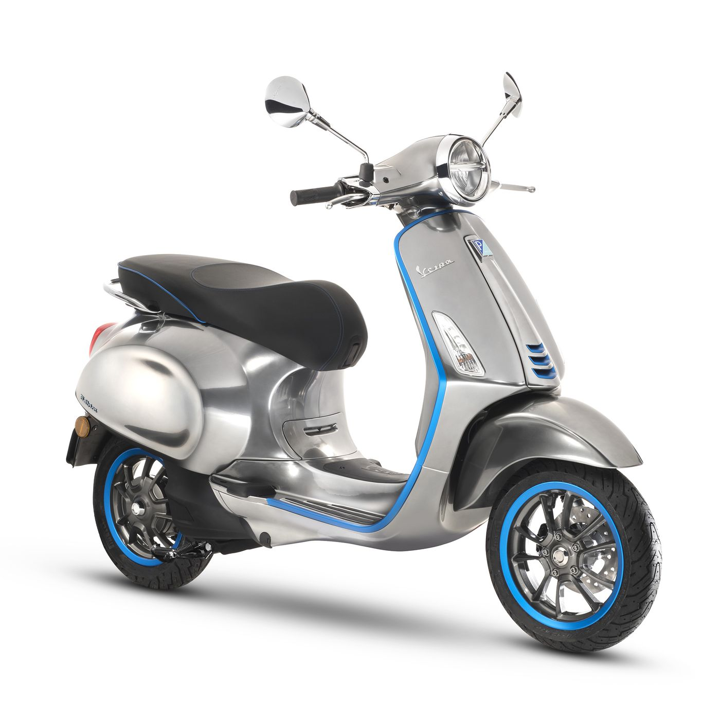 Electric Motor Scooter >> Vespa S First Electric Scooter Is Coming In 2018 With 62