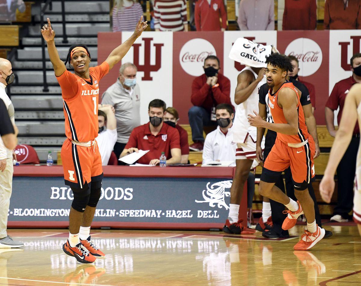 NCAA Basketball: Illinois at Indiana