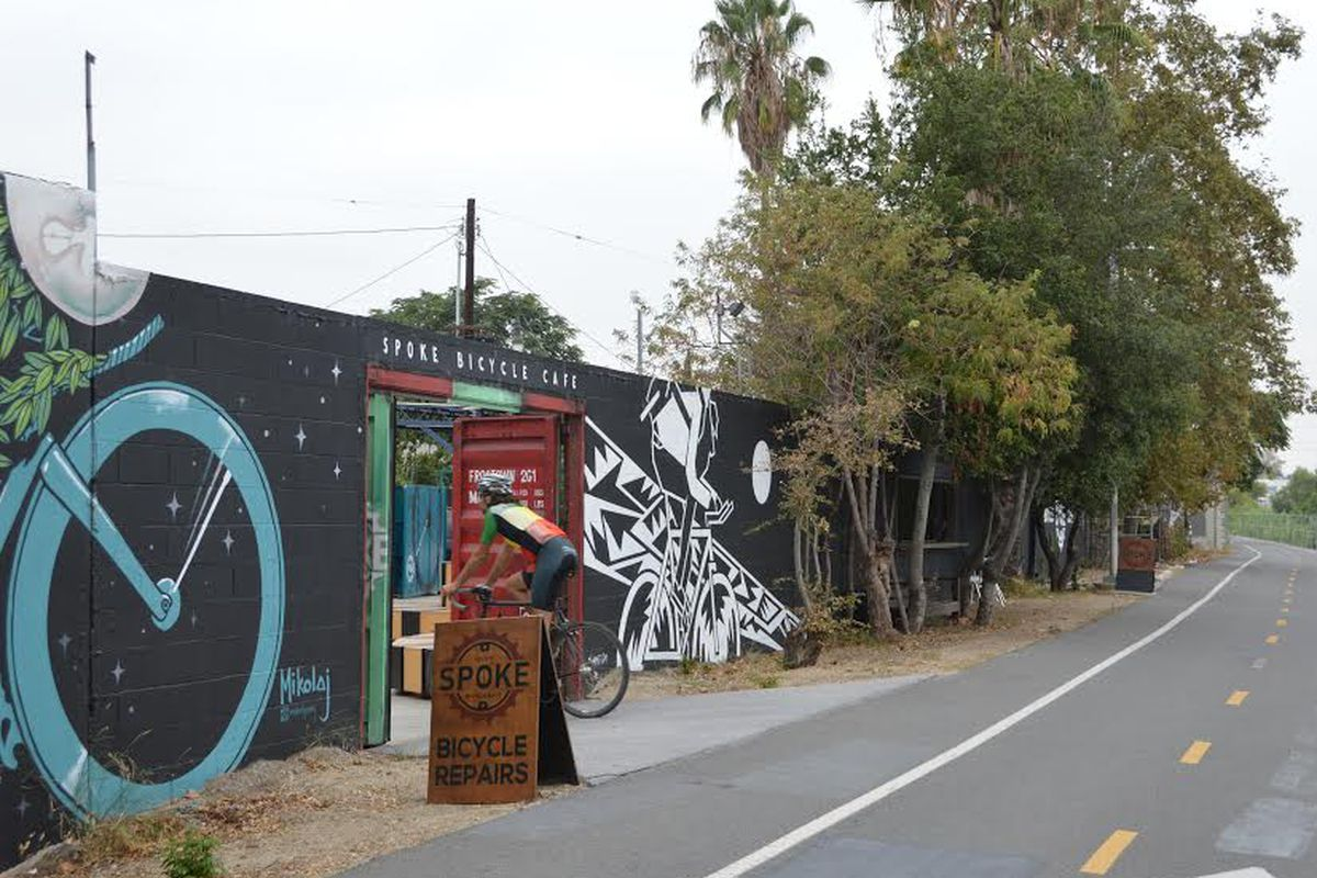 Spoke Bicycle Cafe, Frogtown