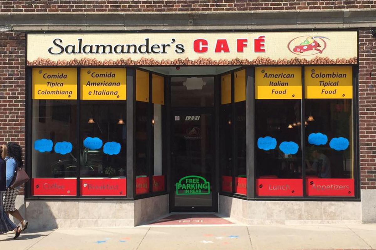 Salamander s Cafe Closes After Just Eight Months  UPDATE  - Eater Boston a6c1ffb9c7
