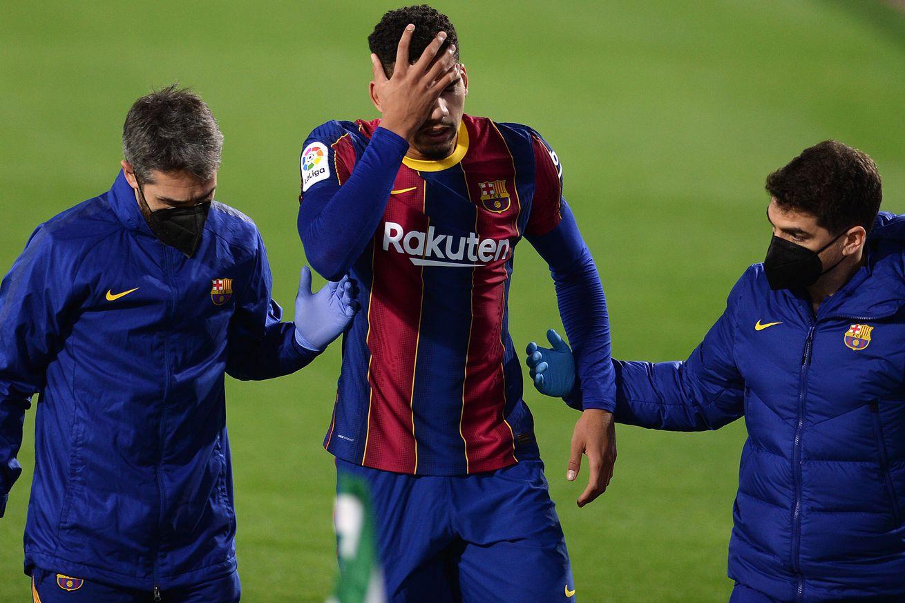 "Araujo to make Barca return vs Sevilla in the Copa del Rey"""