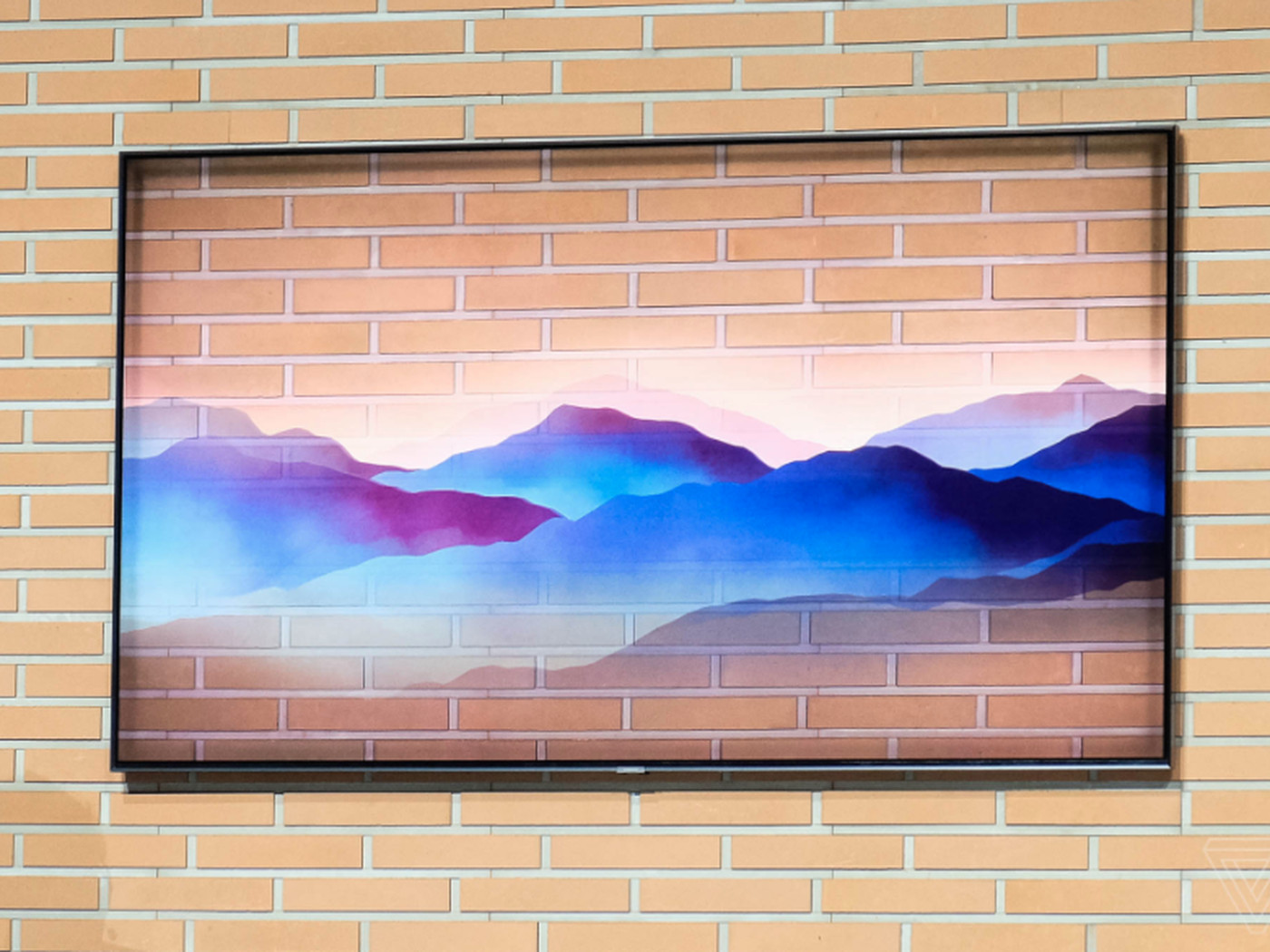 Samsung S 2018 Qled 4k Tvs Can Blend Into Your Wall And Control Your Smart Home The Verge