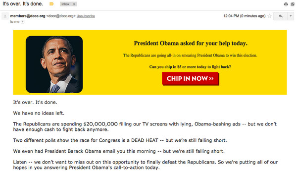 DCCC email