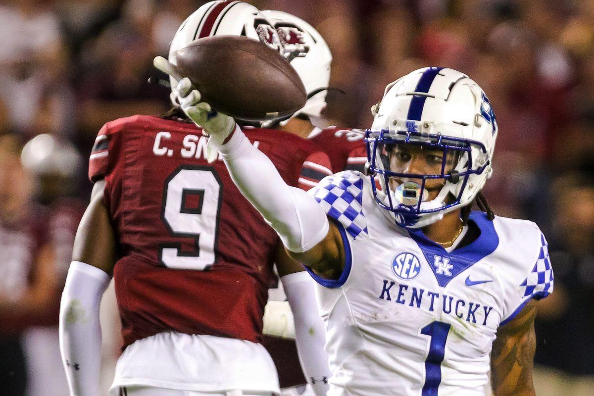 NCAA Football: Kentucky at South Carolina