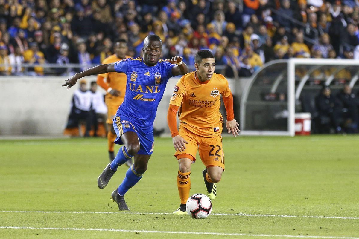 MLS: Champions League-Tigres UANL at Houston Dynamo