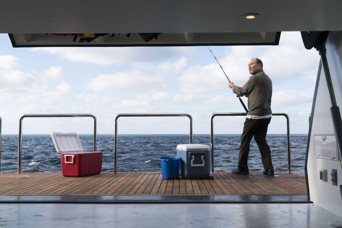 Fishing on Fear the Walking Dead.