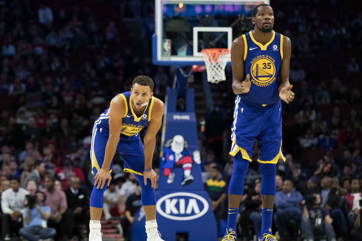 NBA injury news: Warriors Kevin Durant and Steph Curry nearly healthy - Golden State Of Mind