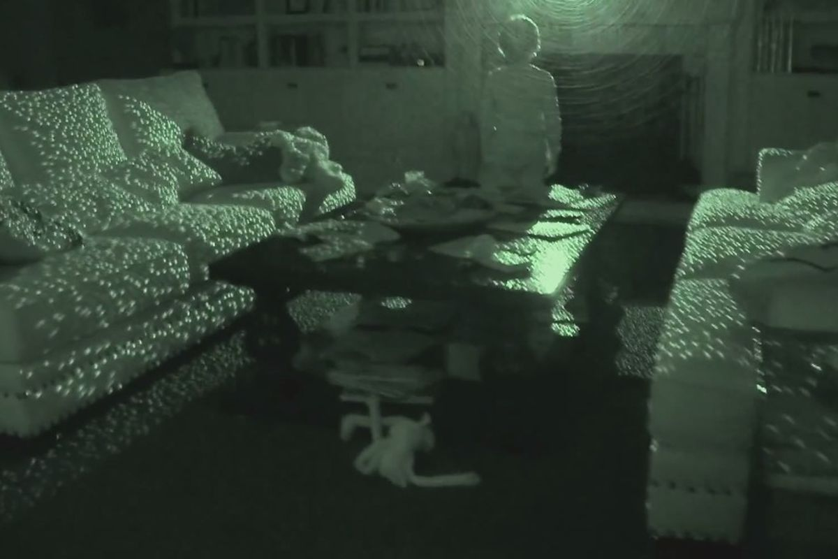 Ghosts in the machine? Using the Kinect to hunt for
