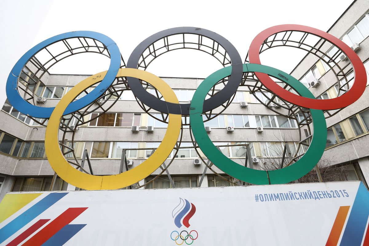 Russian Olympic Committee in session