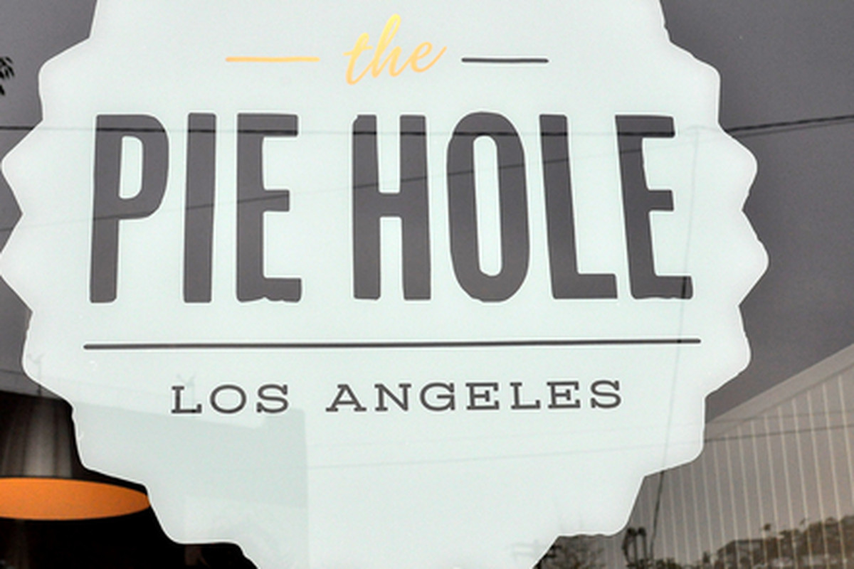 Outside The Pie Hole, Downtown.