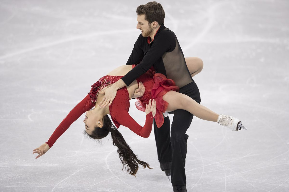 Wardrobe Malfunction Causes Difficulty In Olympic Ice Skater's Performance