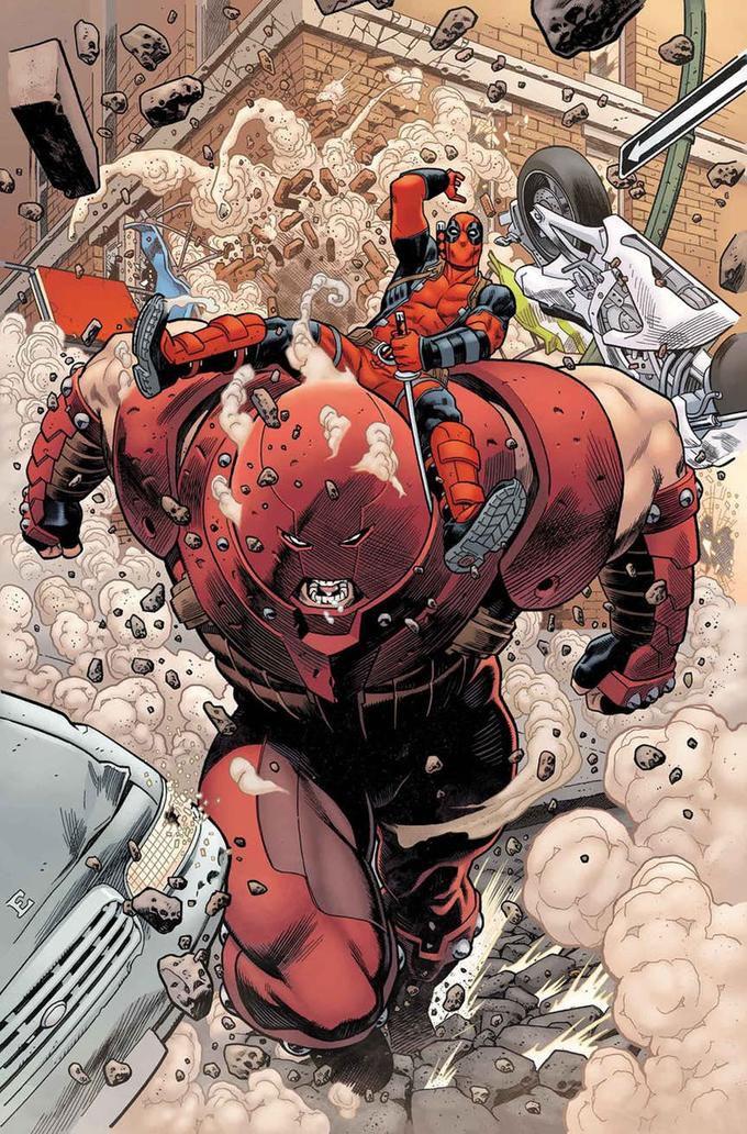 juggernaut and deadpool marvel comics