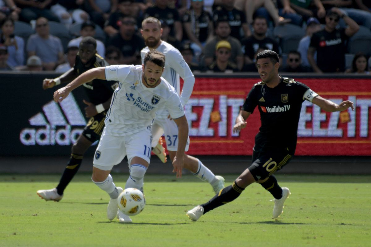 MLS: San Jose Earthquakes at Los Angeles FC