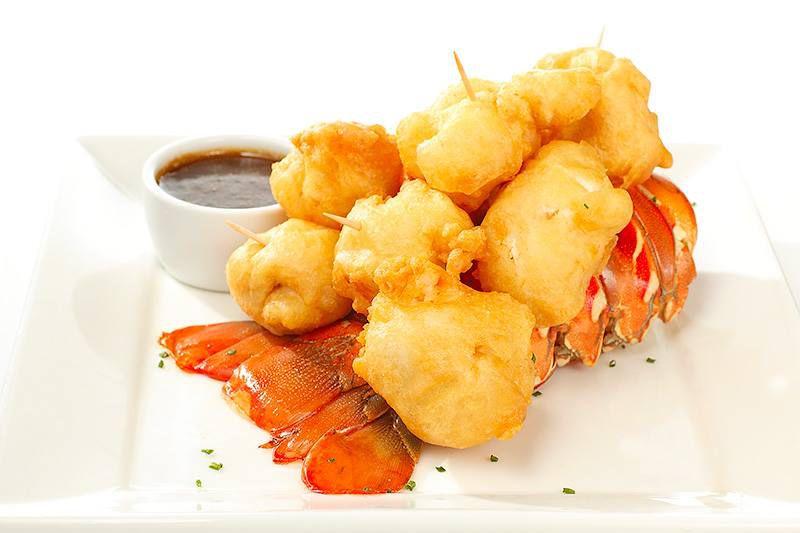 Tempura lobster at Perry's