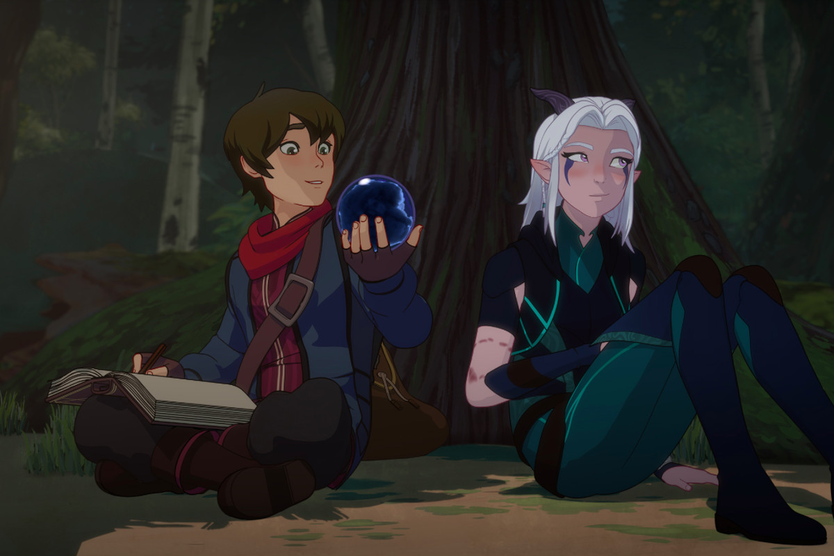 Netflix's The Dragon Prince is influenced by Avatar: The Last