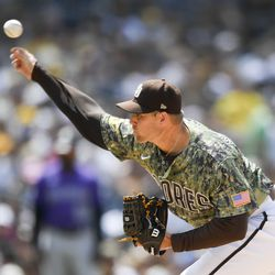 Craig Stammen, Padres starting pitcher on Tuesday