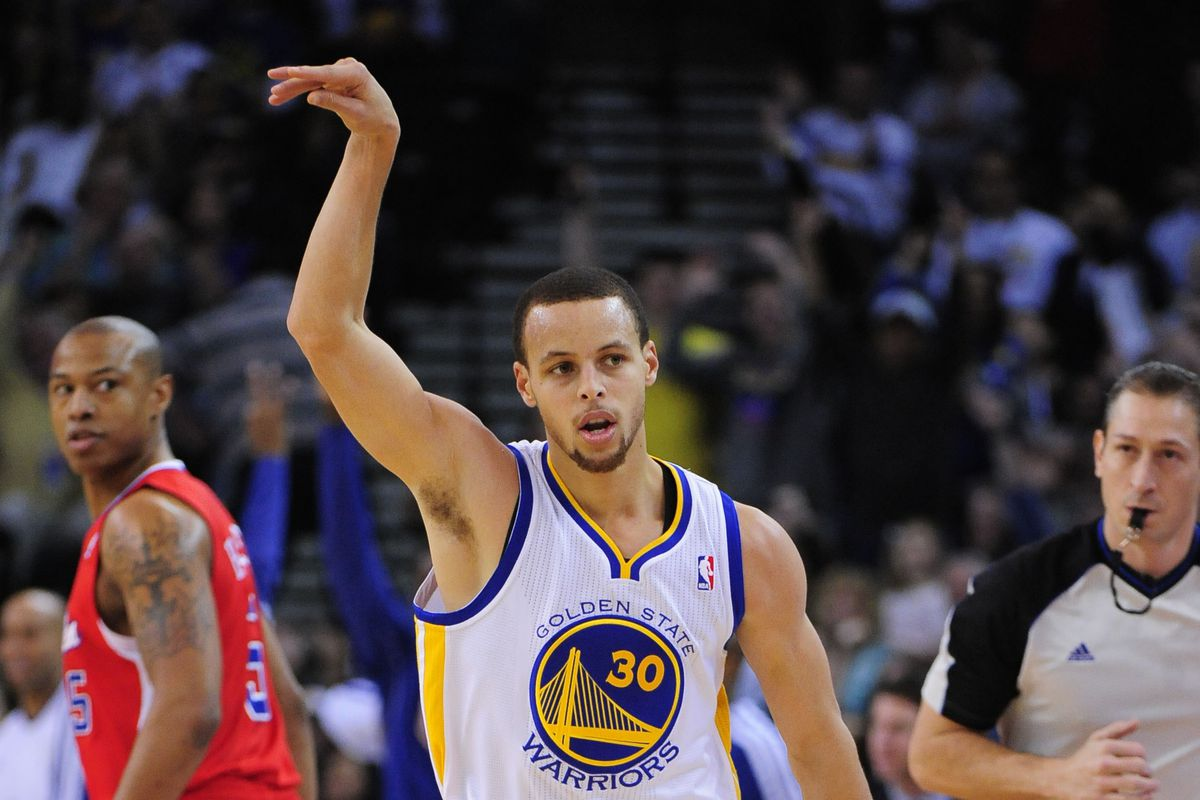 The Clips sure spent a ton of time staring at the back of Curry's jersey.
