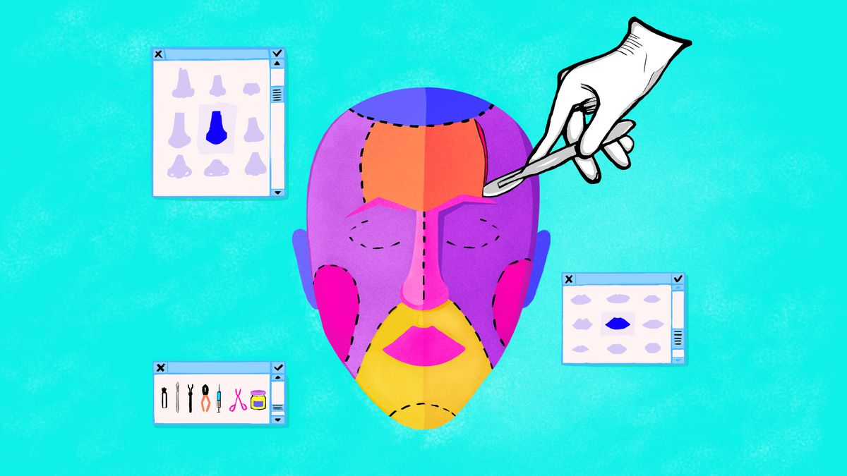 Some apps are turning cosmetic surgery into a game - The Verge