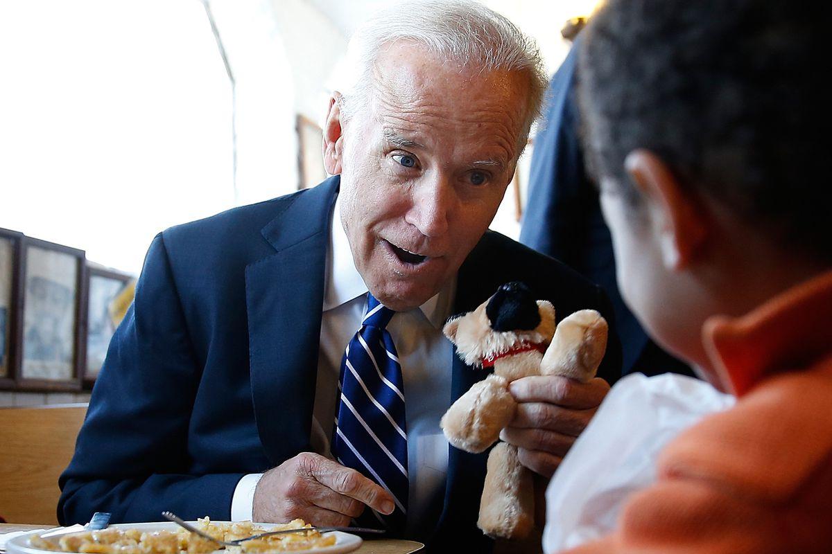 Joe Biden has a secret for you. Or is it a gaffe?