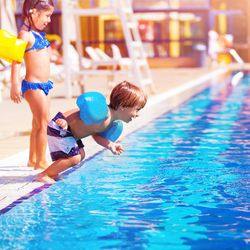 Families head to pools, lakes and the ocean every summer, even though an alarming number of children can't swim, and even good swimmers can drown in less than a minute. Knowing these things can help keep your family safe.