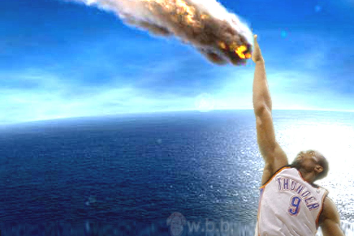 Serge Ibaka's blocks were enough to save us from the apocalypse today, but weren't enough to save us from the Minnesota Timberwolves.