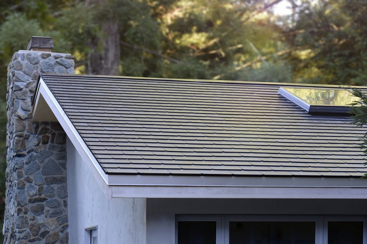 What Do Tesla S Solar Roofs Look Like Curbed