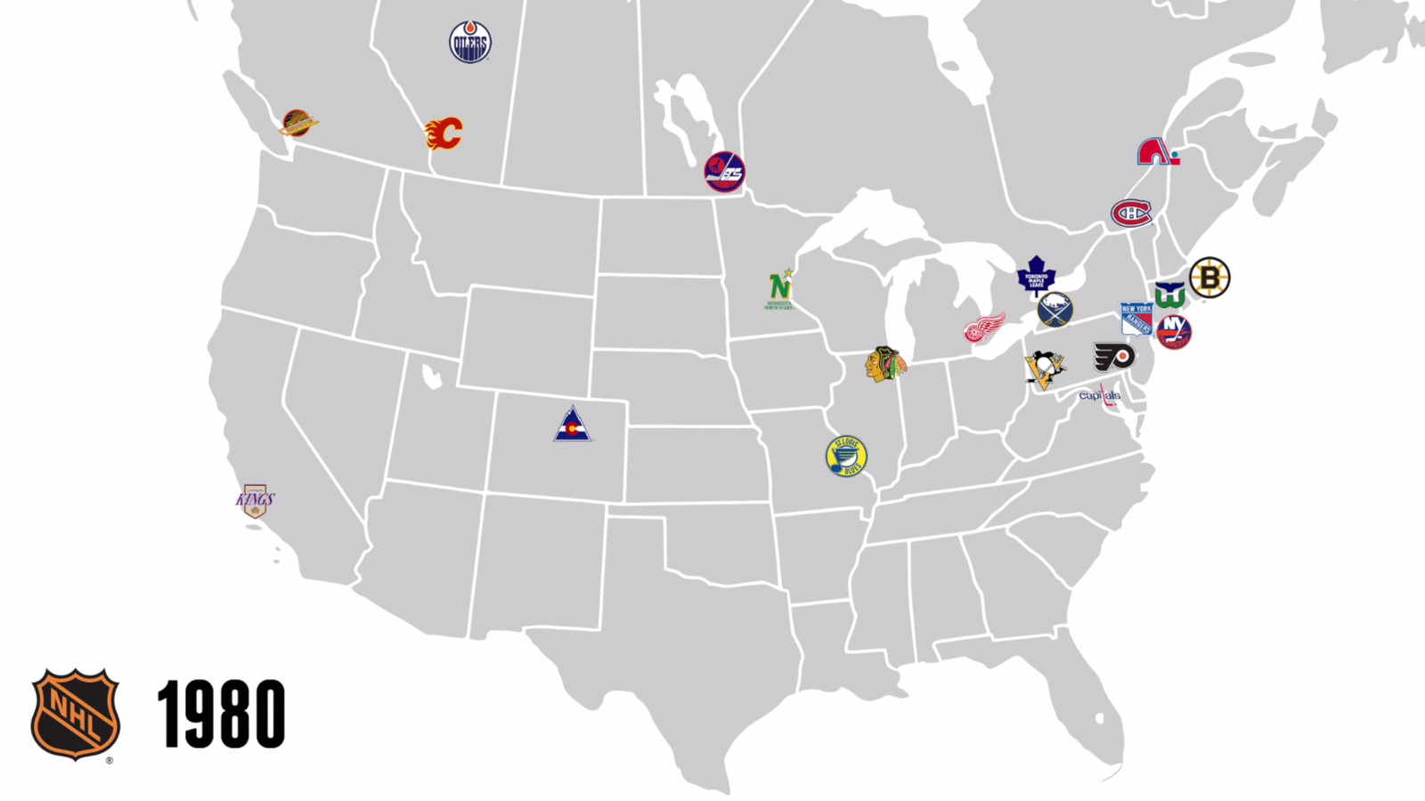 97 years of NHL expansion in one simple map - SBNation.com