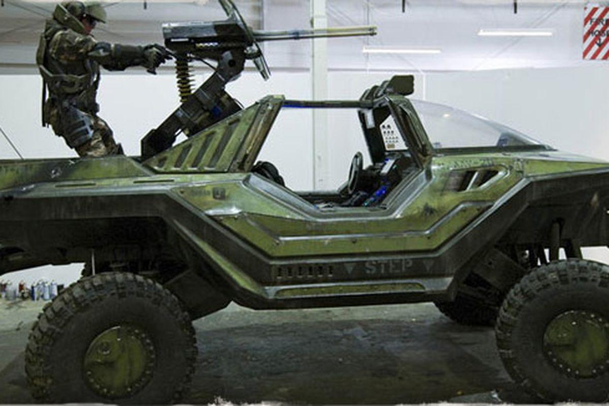 Halo movie Warthog (image: Weta)