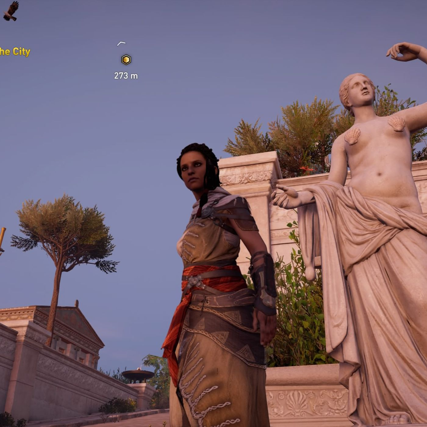Assassin S Creed Origins Guided Tour Mode Covers Up Nude Statues