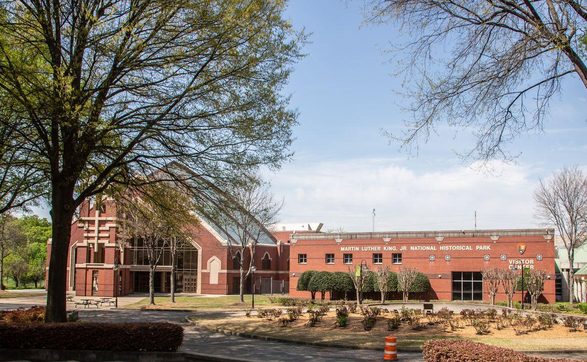 The King Center in Atlanta's Sweet Auburn District