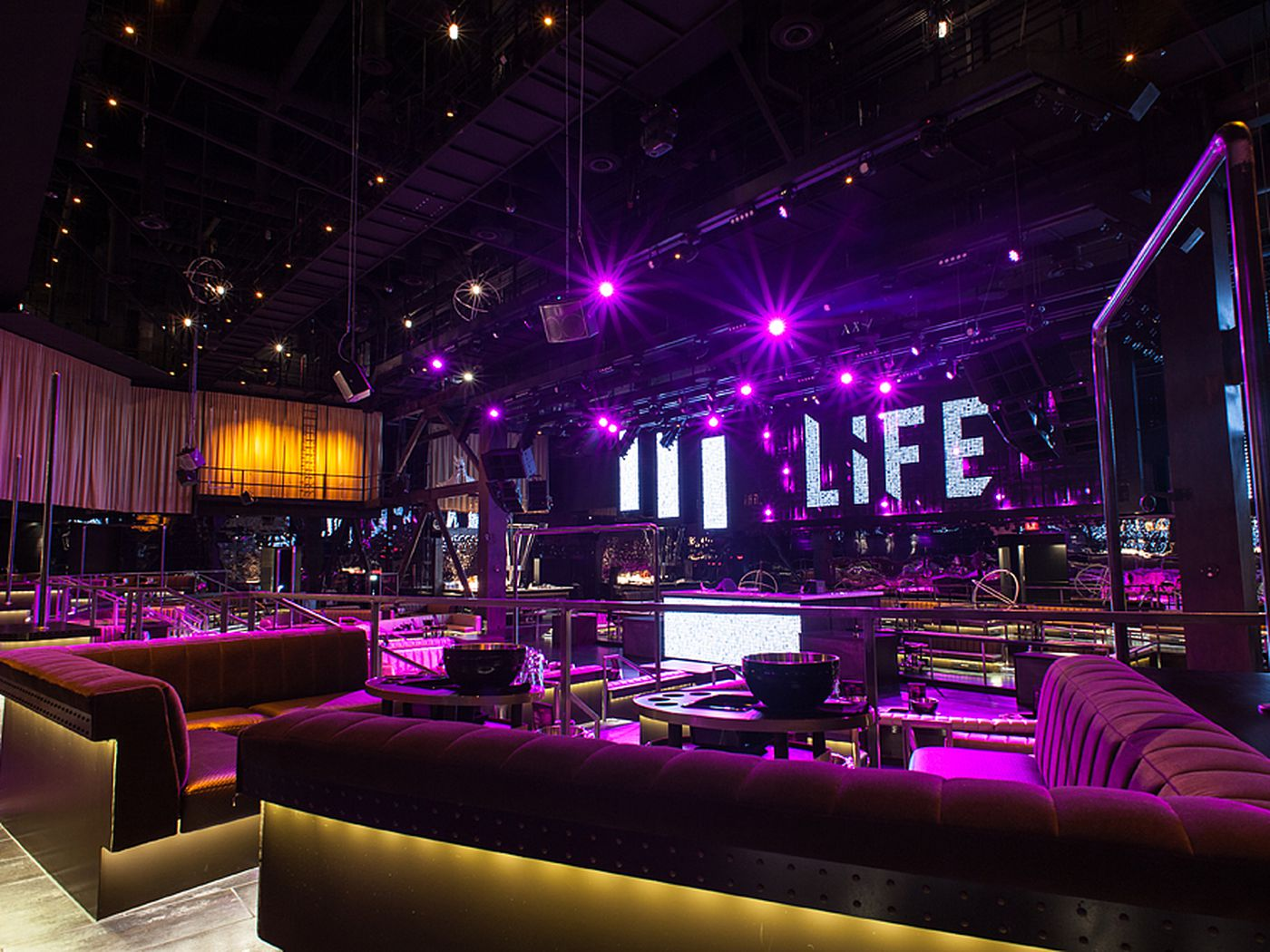 Update Life Nightclub OUT The Foundry Hall IN At SLS Las Vegas