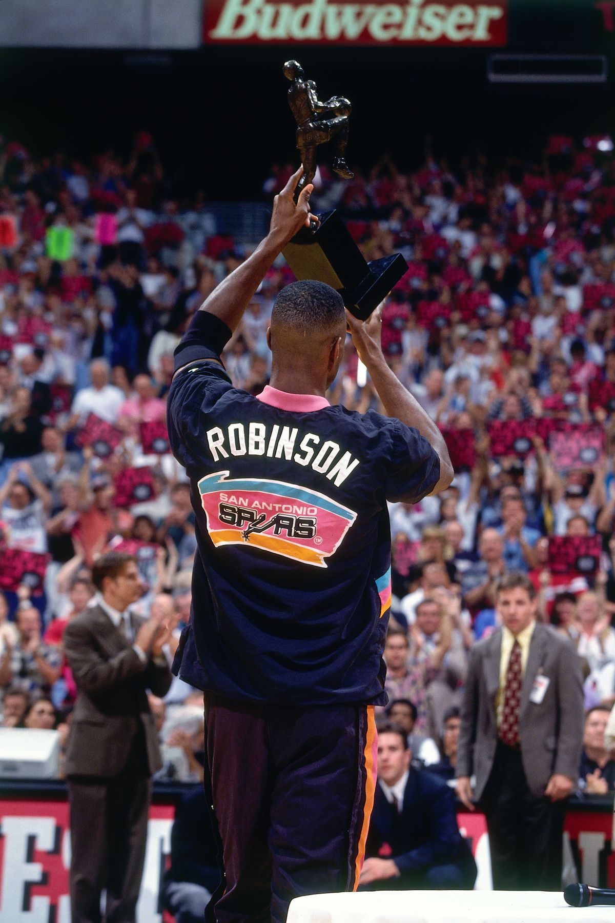 1995 Western Conference Finals - Game Two: Houston Rockets v San Antonio Spurs