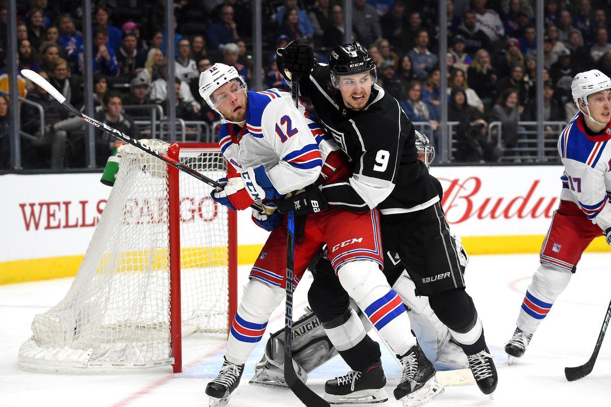 NHL: New York Rangers at Los Angeles Kings
