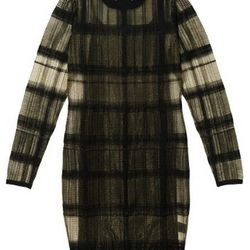 "<b>Alexander Wang</b> Plaid Dress in black, <a href=""http://otteny.com/plaid-dress.html#"">$339.50</a> at Otte"