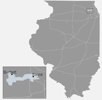 Illinois House 45th District map