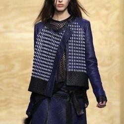 Tweed shirt jacket, $555