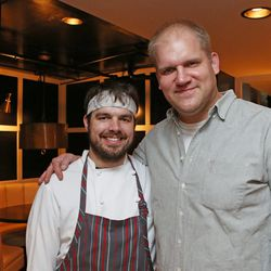 Kyle Foster of Viande/Ste. Ellie and Amos Watts of Acorn