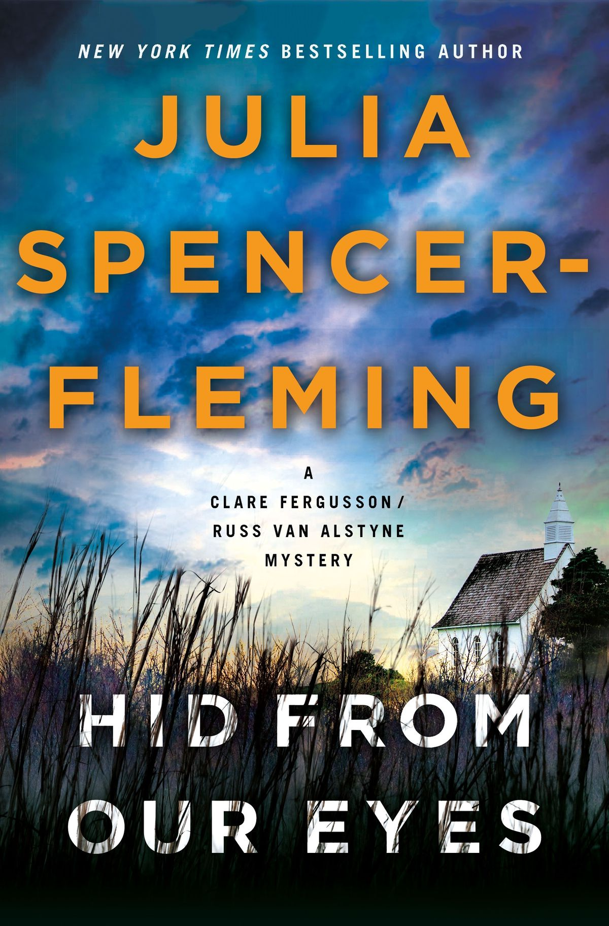 """Click for an excerpt from """"Hid from Our Eyes"""" by Julia Spencer-Fleming."""
